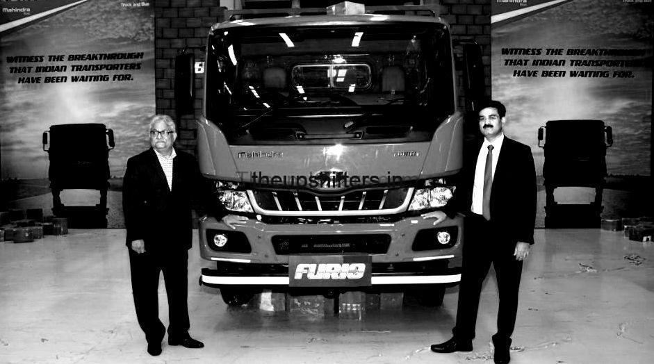 Mahindra unveils FURIO – Set to become a full range Commercial Vehicle player