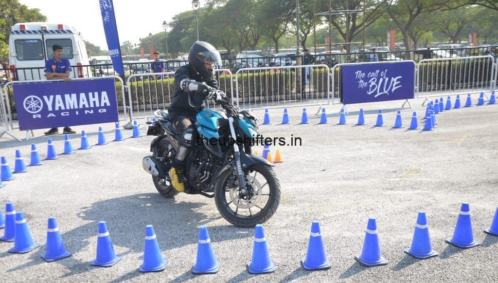 Yamaha Call of the Blue takes over Delhi