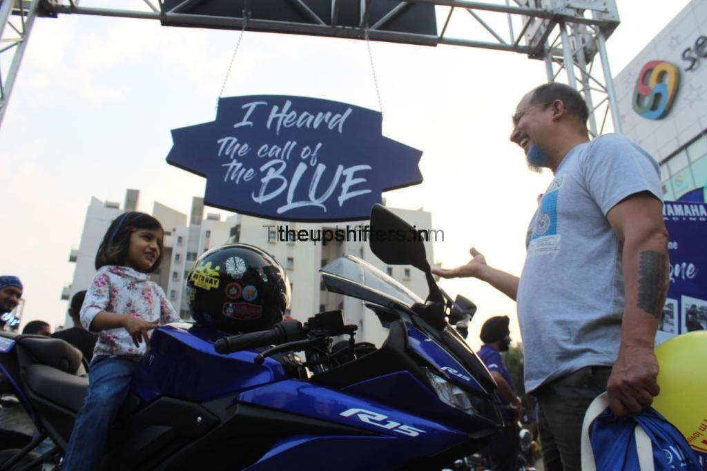 "Yamaha's The Call of The Blue revved hearts in ""Amchi Pune"""