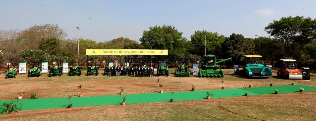 Innovation continues to drive John Deere's 20-year success in India