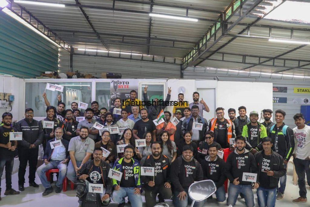 MotoByte conducts INAUGURAL RIDE on Republic Day