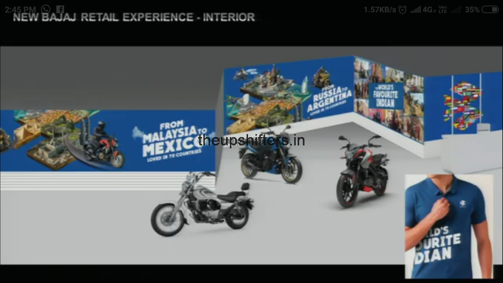 """Bajaj Auto Ltd launches new brand identity as """"The World's Favourite Indian"""""""