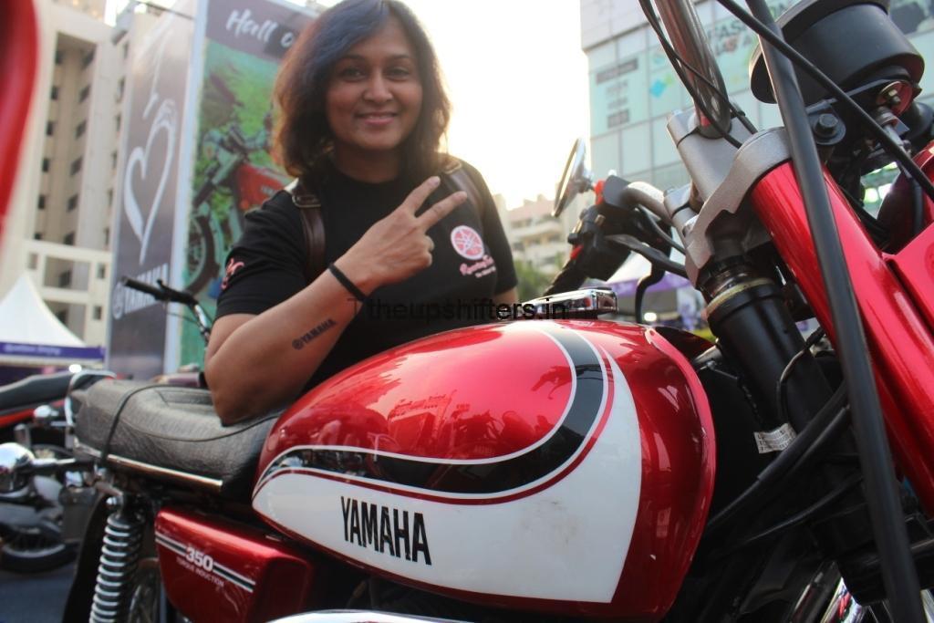 Yamaha RD350 – Rashmi Mane-Mahadik
