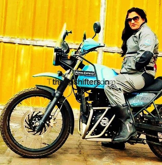 Royal Enfield Himalayan 2018 – Vaishali Bhagat Master (The Bikeress)