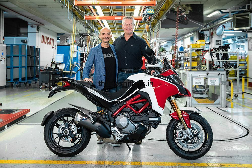 Ducati Multistrada hits the 100,000 mark