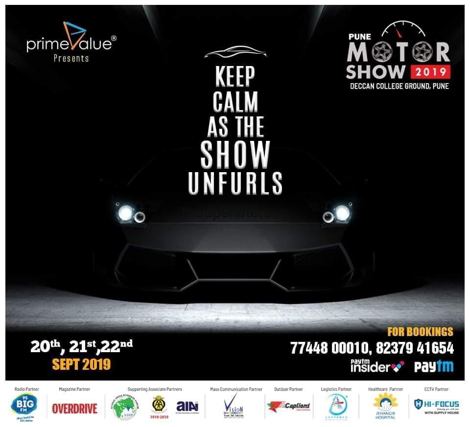Pune to host thrilling 'Motor show 2019'