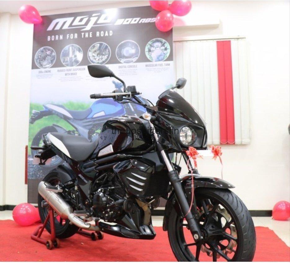 Mahindra Mojo 300 ABS