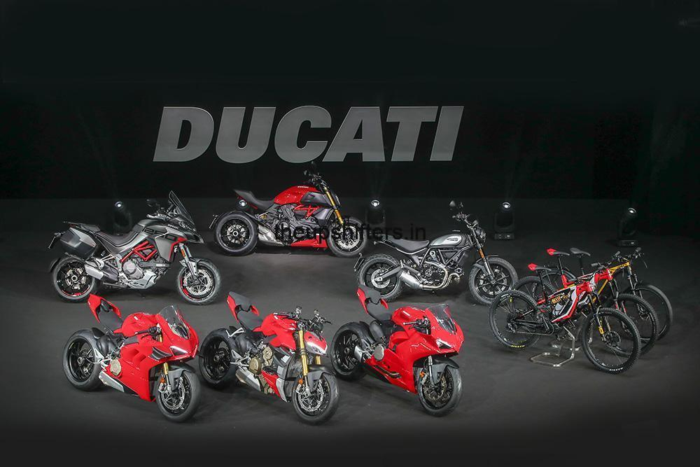 Ducati presents a series of exciting new bikes for 2020