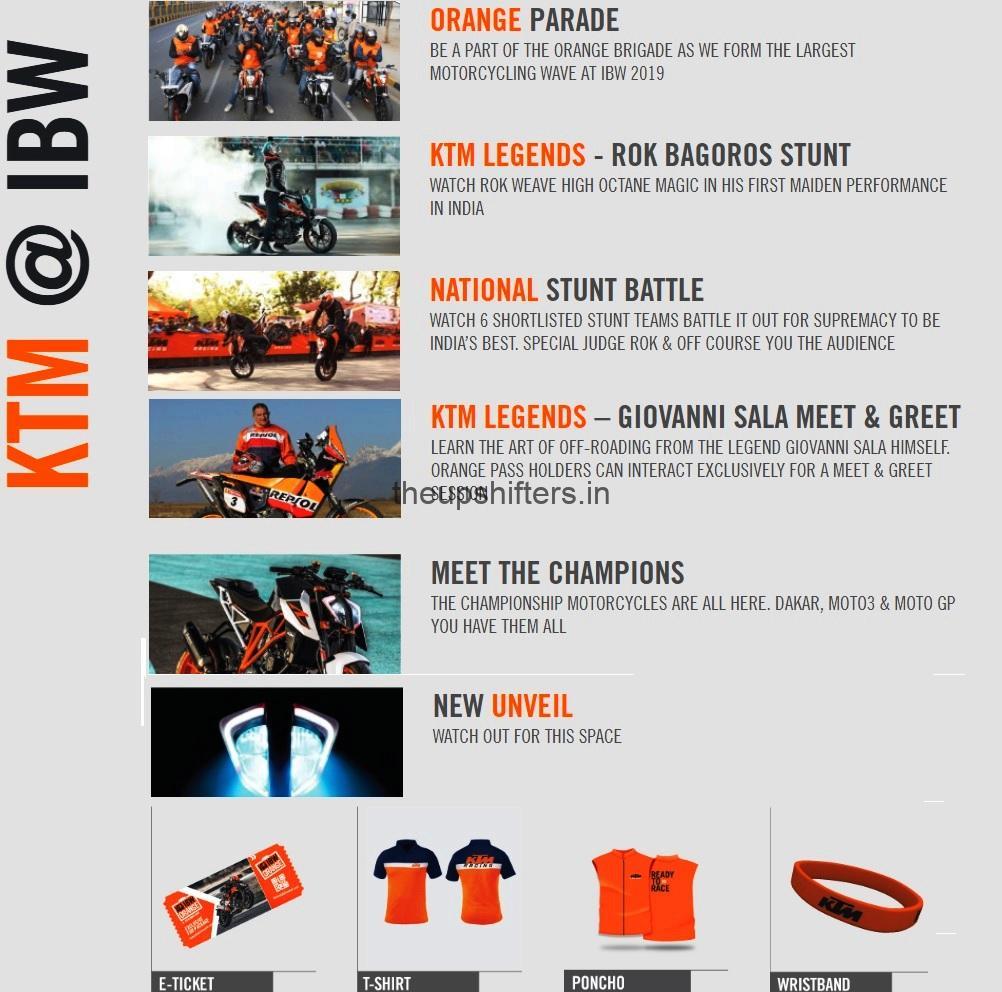 ktm india bike week