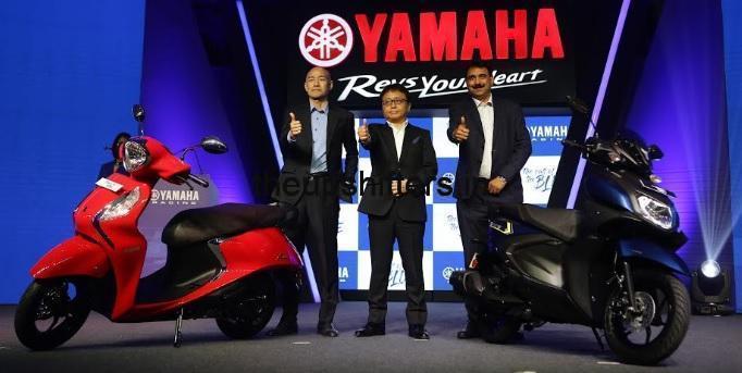 Yamaha launches the new Fascino 125 FI