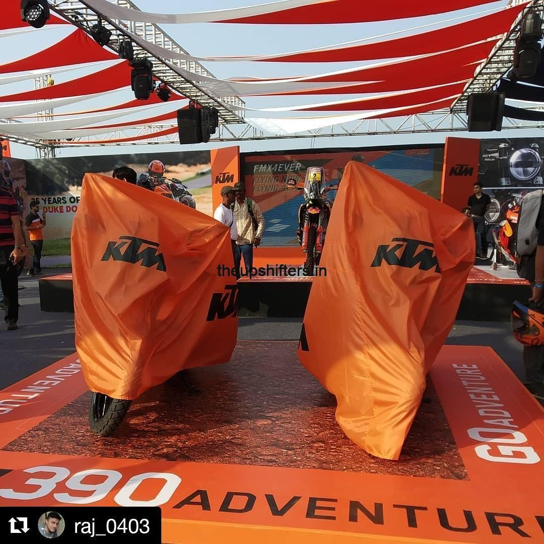 KTM 390 Adventure launched at India Bike Week 2019