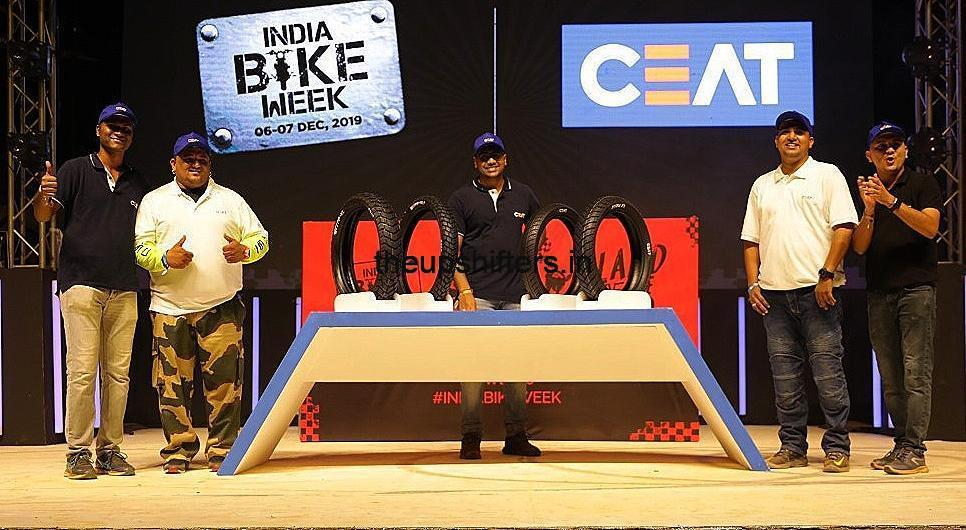 India Bike Week 2019  – CEAT Ltd launches Tubeless range of Gripp XL and Zoom X3 tyres