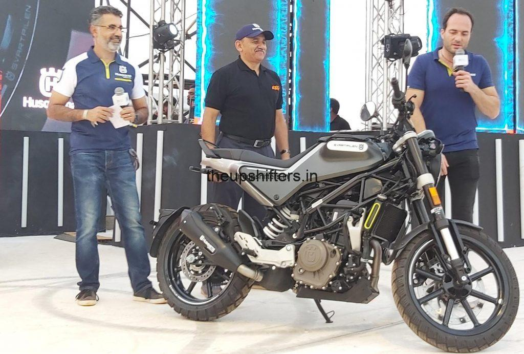 India Bike Week 2019 – BAJAJ AUTO LAUNCHES PREMIUM SWEDISH MOTORCYCLE BRAND HUSQVARNA IN INDIA