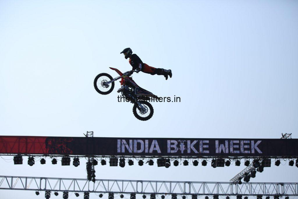 India Bike Week 2019  – A star studed Opening day