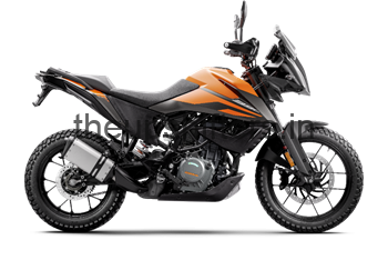KTM 390 Adventure at Rs. 299000
