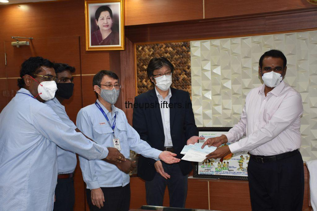 Yamaha supports  Tamilnadu government in its fightagainst COVID19