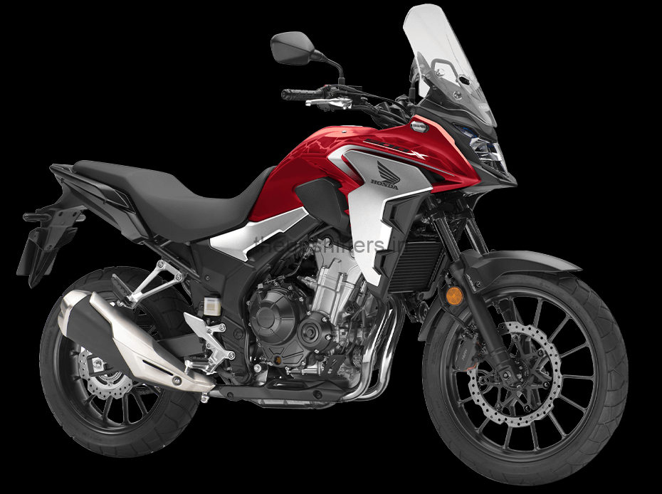 Honda CB500X Red Dynamic