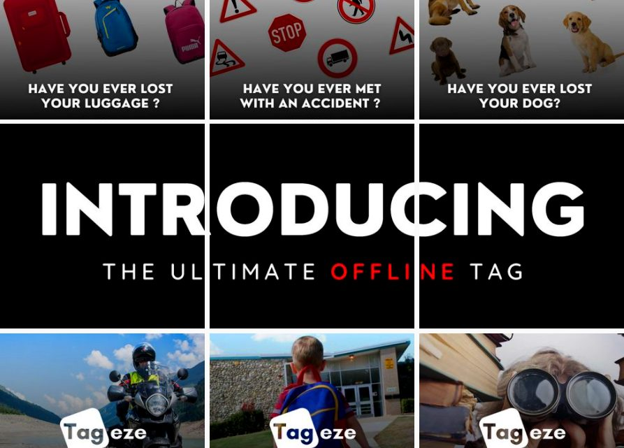 MyTageze launches 3 unique personalized Tags